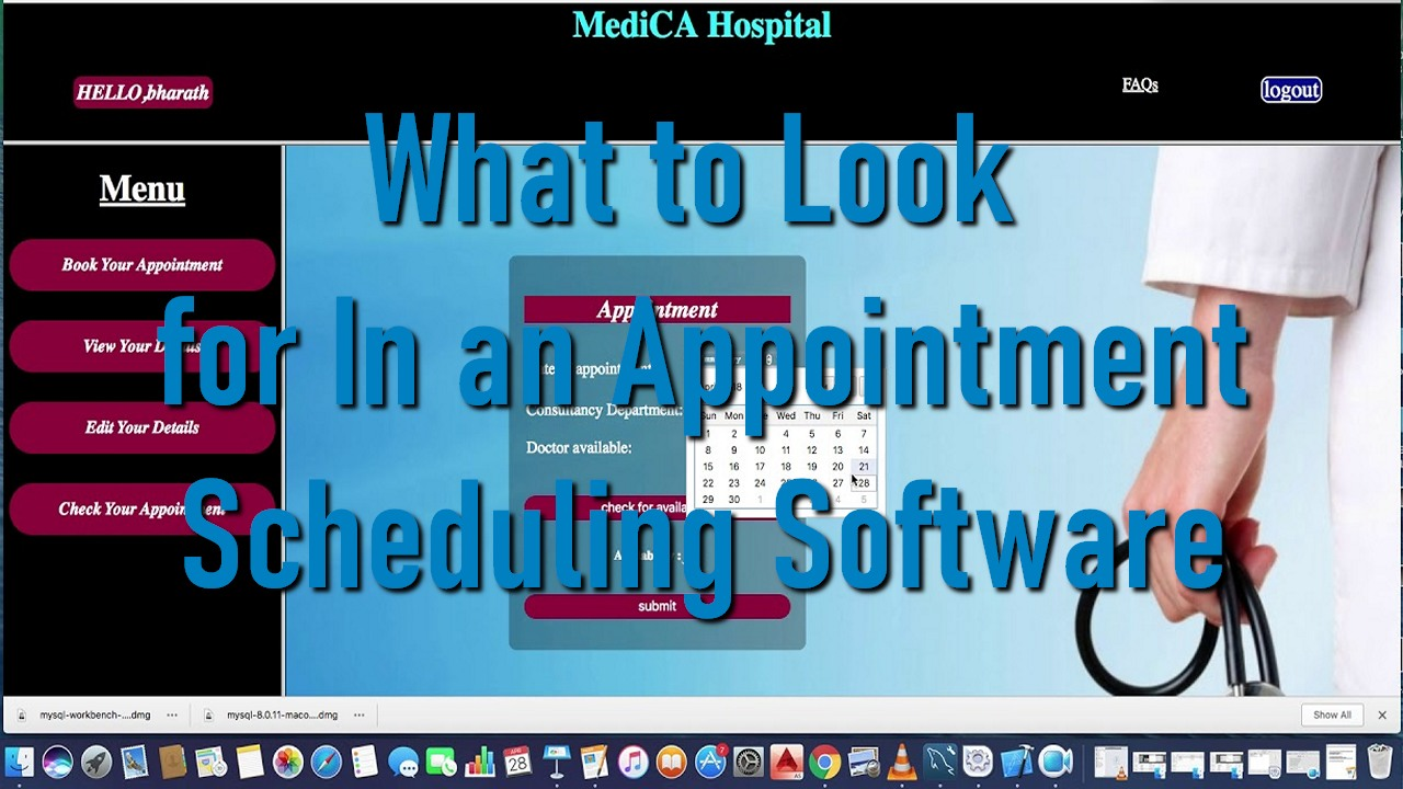 What to Look for In an Appointment Scheduling Software